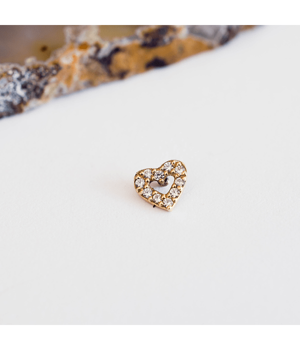 Corazón con gemas