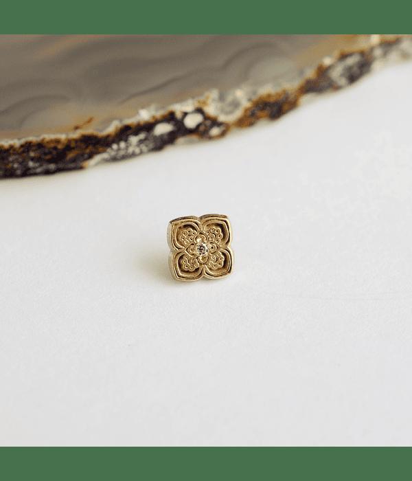 Mandala 1 en oro amarillo - 14g