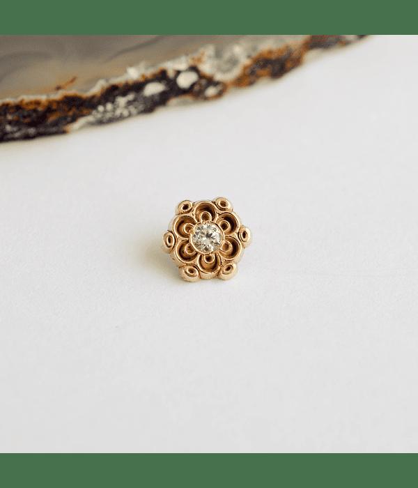 Mandala 2 en oro amarillo - 14g