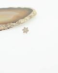 Flor de oro amarillo - Threadless o pin