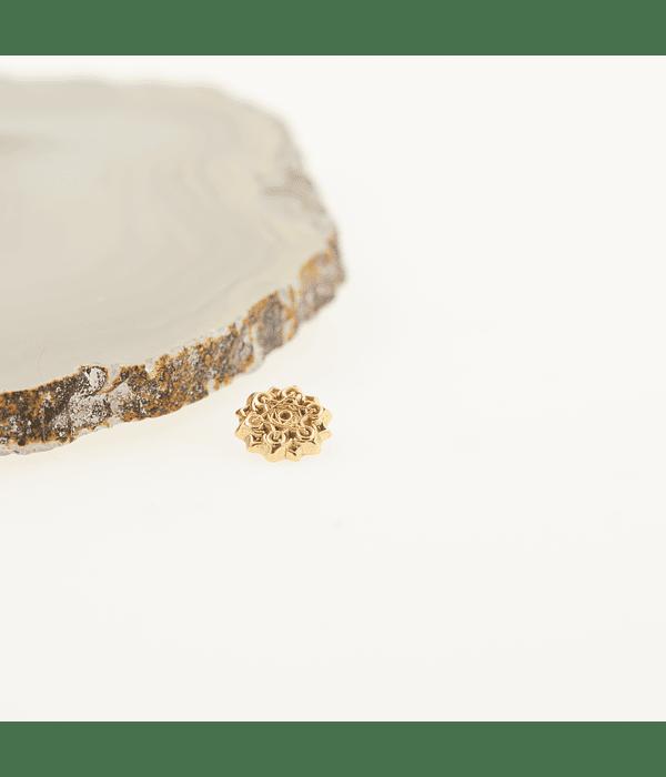 Accesorio ornamental Metatron oro amarillo - 14g