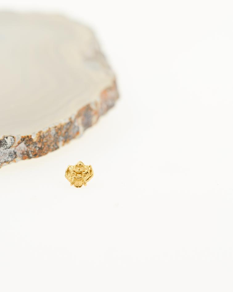 Accesorio ornamental oro amarillo - 14g