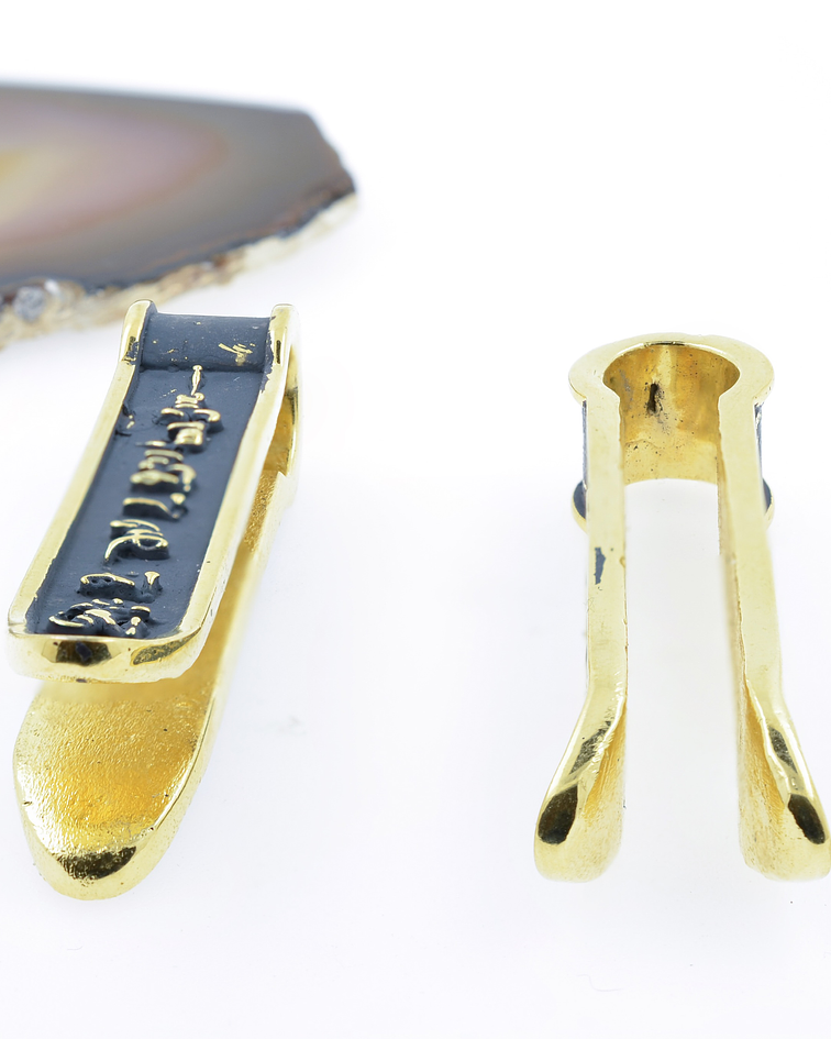 Mantra Ear Weights in Brass
