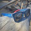 Óculos de Sol Joplins Hayden Madeira Skate
