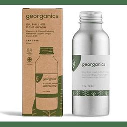 Oil Pulling Elixir Bocal Georganics – Árvore do Chá