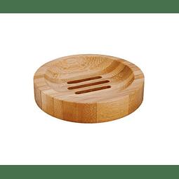 Saboneteira Redonda de Bambu