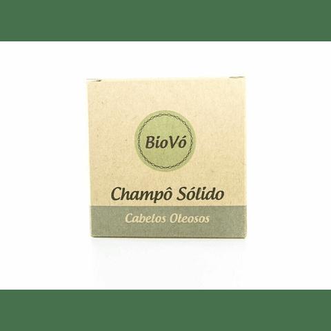 Champô sólido Biovó - cabelos oleosos