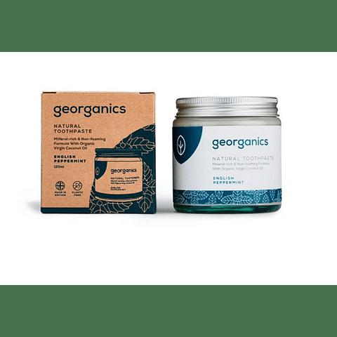 Pasta de Dentes Natural e Orgânica Georganics – Menta Inglesa Orgânica