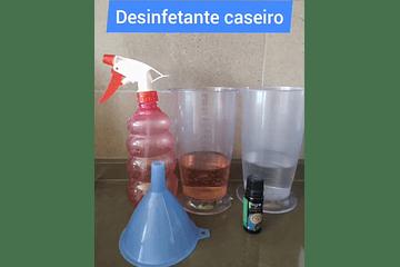 Como fazer desinfetante caseiro