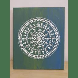 Mandala em tela