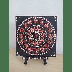 Mandala Intuitiva em MDF com cavalete