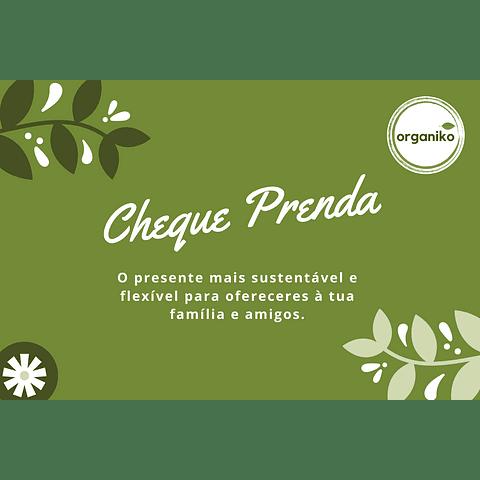 Gift Card: Cheque Prenda Organiko
