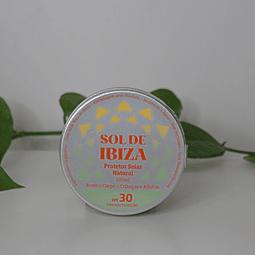 Protetor Solar Natural SPF 30 para Rosto e Corpo - Sol de Ibiza