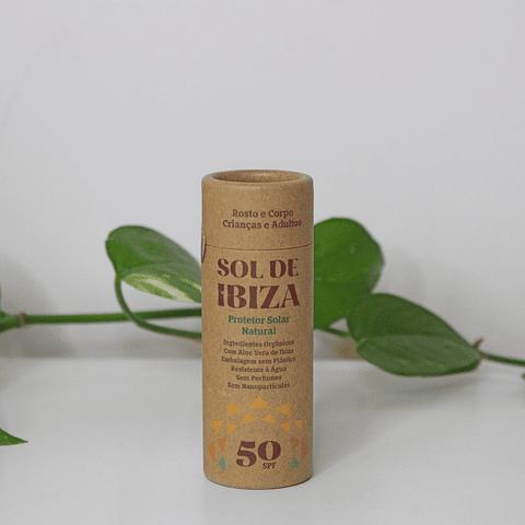 Protetor Solar Natural Stick SPF 50 - Sol de Ibiza
