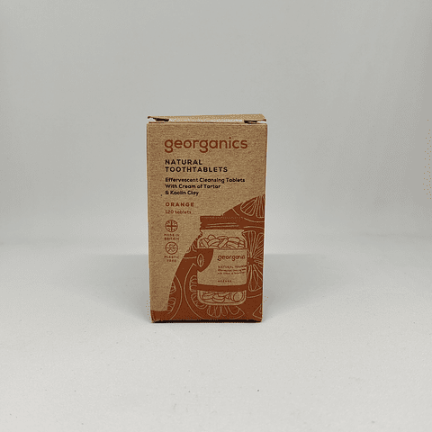 Pasta de dentes em Pastilha - Georganics