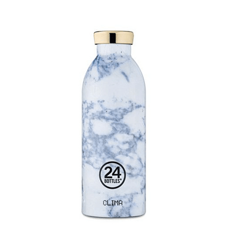Garrafa Reutilizável Clima Bottle 500ml White Marble - 24Bottles