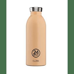 Garrafa Reutilizável Clima Bottle 500ml Peach Orange - 24Bottles