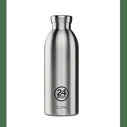 Garrafa Reutilizável Clima Bottle 500ml Steel - 24Bottles