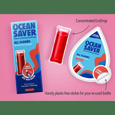 Detergentes Lava-Chão em Cápsula Solúvel - Ocean Saver