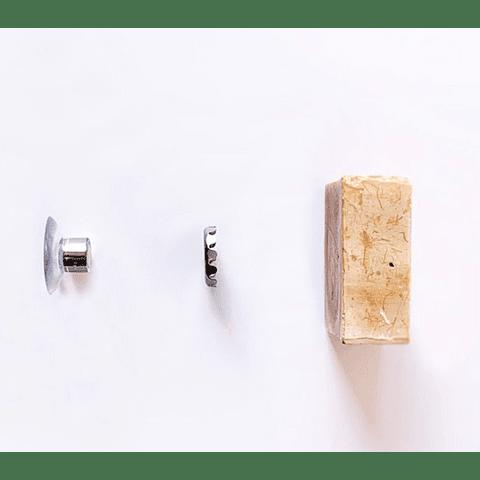 Suporte de Ventosa para Champô ou Sabonete Sólido - Chamarrel