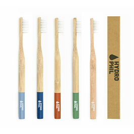 Escova de Dentes em Bambu   Médio-Suave