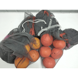 Conjunto de sacos para frutas/legumes