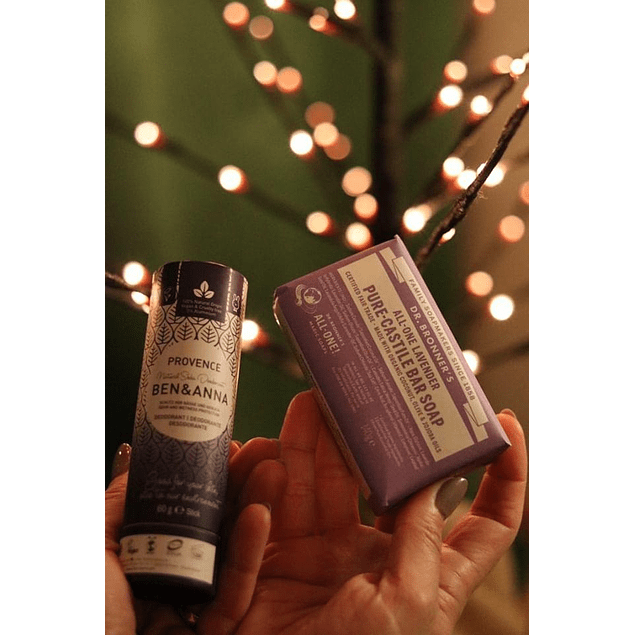 Desodorizante + sabonete