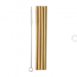 Palhinhas de Bambu reutilizáveis e 100% biodegradáveis!