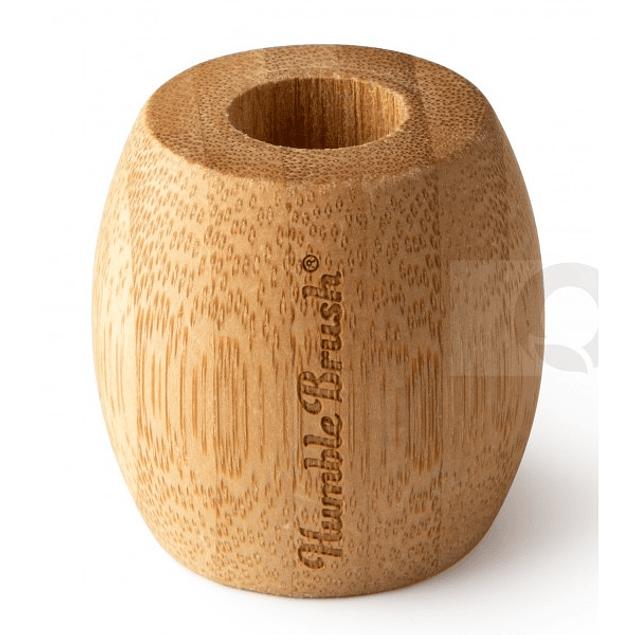 Suporte de Bambu para escova de dentes