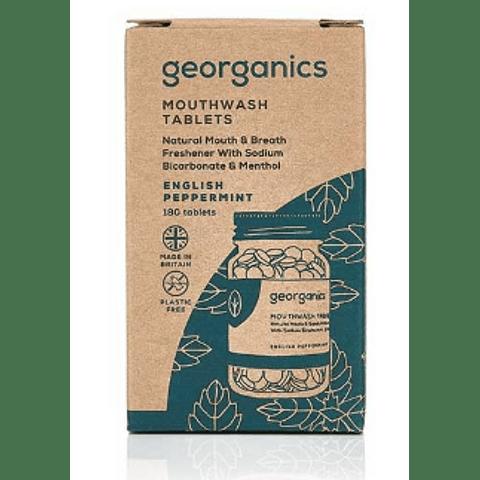 Pastilhas Elixir Bocal Georganics – Menta Inglesa