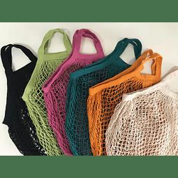 Saco Reutilizável Granny - alça curta