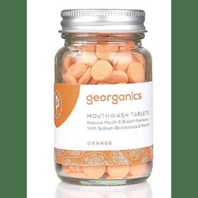 Pastilhas Elixir Bocal Georganics – Laranja