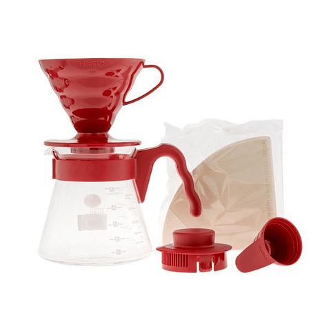 Kit V60 Rojo