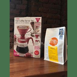 Pack Kit V60 + Cafe