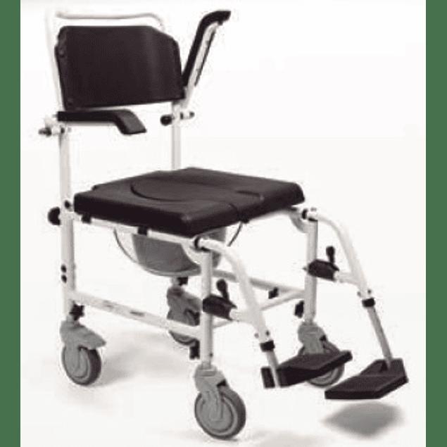 Cadeira de Banho com Reposabraços Rebatíveis - 228172