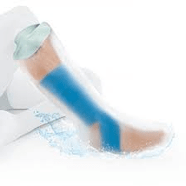 Protetor de perna para ortóteses e gesso – modelo curto