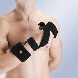 Immobilizing hand and thumb orthosis - right / left