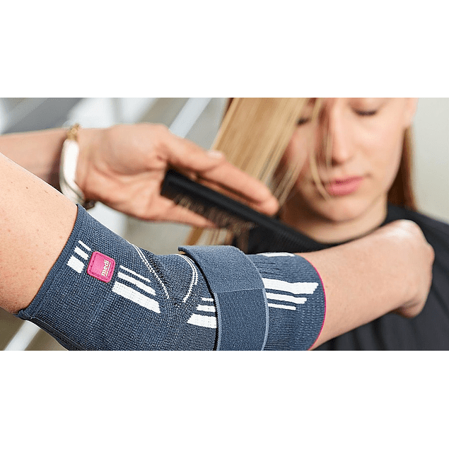Cotoveleira elástica com almofadas