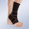 Elastic foot with cross band