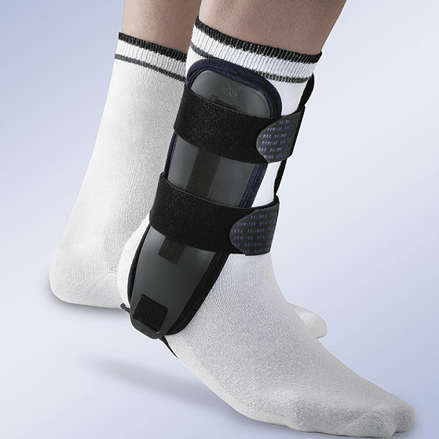 "Ankle stabilizer with thermoplastic plates ""VALTEC"""