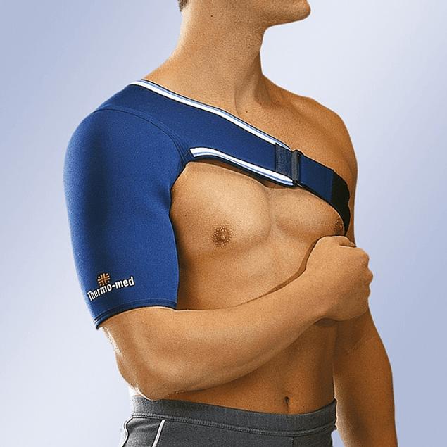 Suporte de ombro unilateral em neopreno