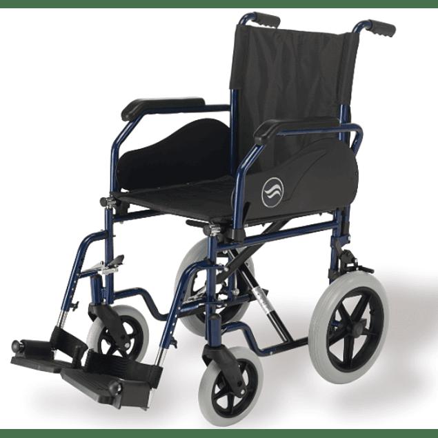 Cadeira de Rodas Breezy 90 com rodas de Transito