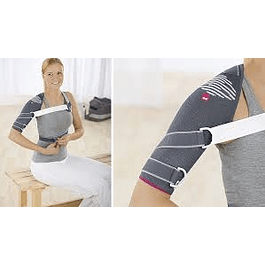 Shoulder support for movement limitation
