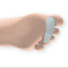 Corretor com anel em gel para dedos em martelo