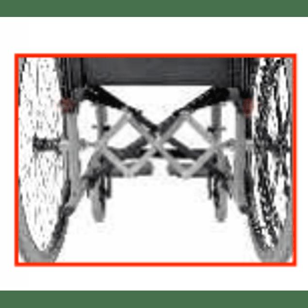 Cadeira de rodas CELTA COMANDO -  apenas uma roda para tracção e condução