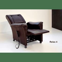 Relax 4 Eléctrico com sistema de elevação sem orelhas Preto