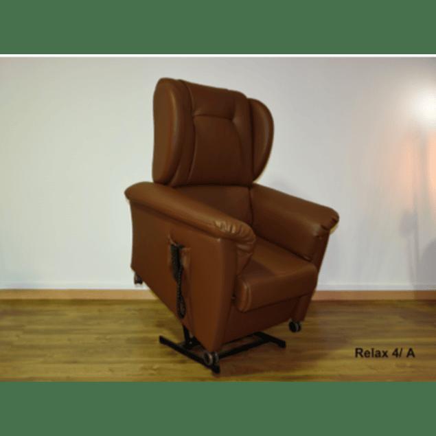 Relax 4 Eléctrico com sistema de elevação com orelhas Preto