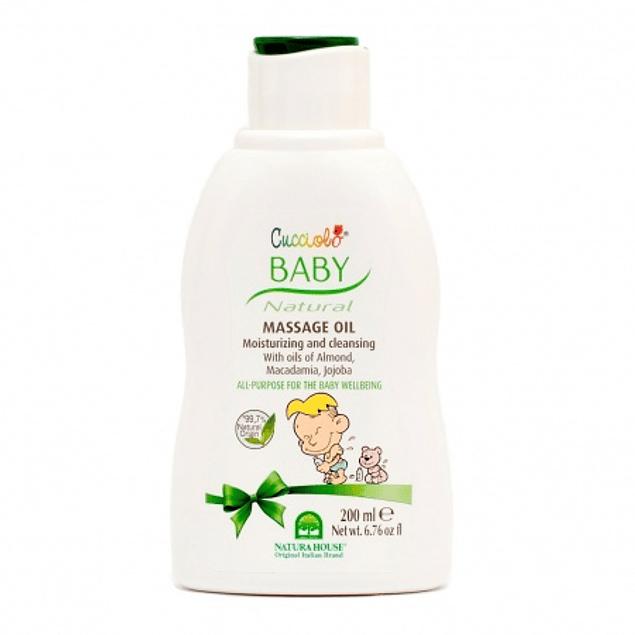 Baby óleo massagem 200ml