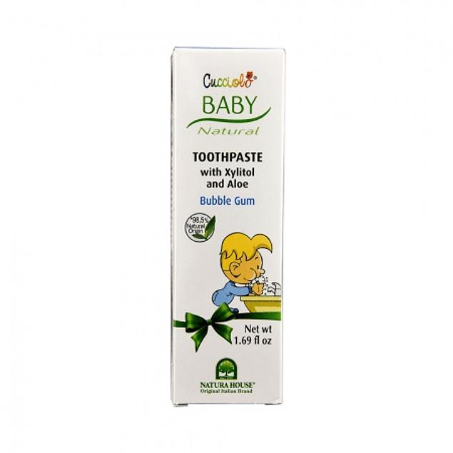 Baby pasta de dentes sabor a pastilha 50ml