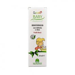 Baby pasta de dentes sabor frutos vermelhos 50ml